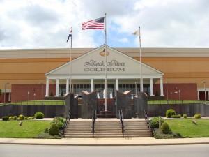 Veteran's Memorial Wall at Black River Coliseum